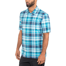 Schöffel Bischofshofen1 UV - Camiseta manga corta Hombre - azul/Turquesa